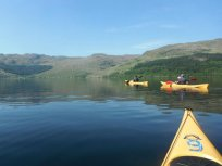 Eco adventures on Loch Long & Loch Lomond