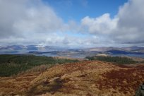 Panoramic views from Ben Lora, Benderloch